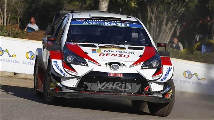Toyota Gazoo Racing İspanya Rallisi öncesi gövde gösterisi yaptı