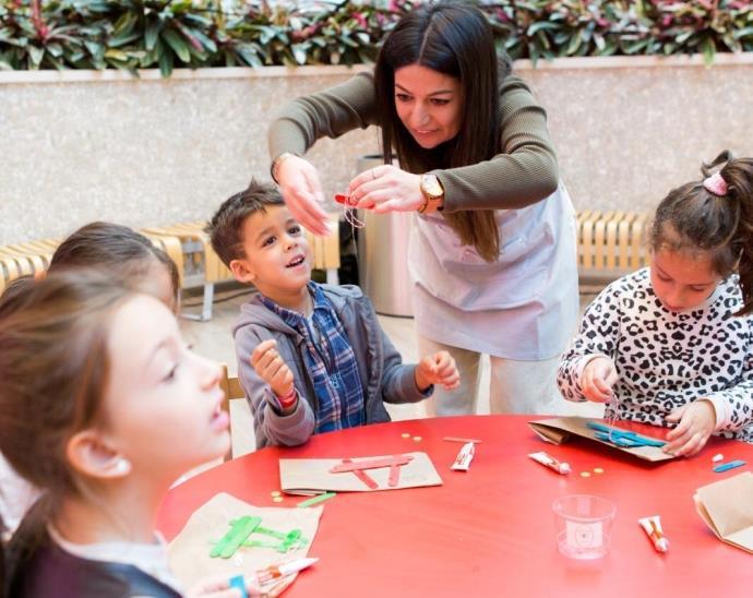 Vadistanbul'da çocuklar için yeni yıl atölyeleri