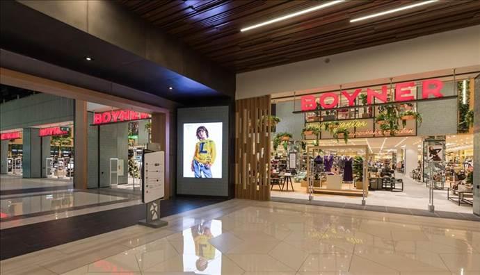 Boyner en büyük ikinci mağazasını Metropol AVM'de açtı