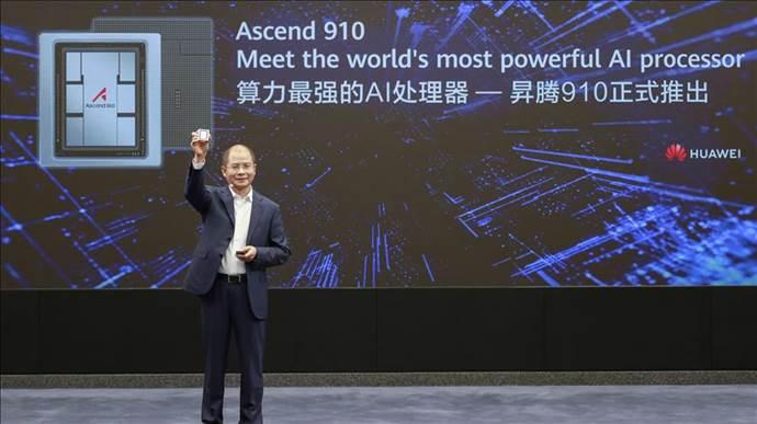 Huawei yeni nesil yapay zeka destekli işlemci geliştirdi