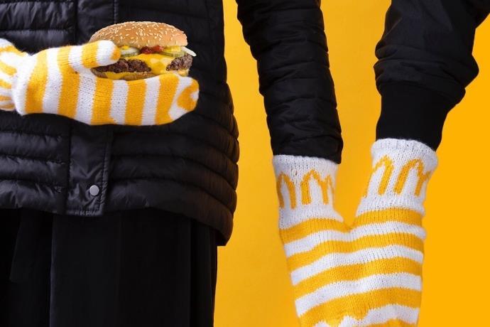 McDonalds'tan hamburger kokulu mum