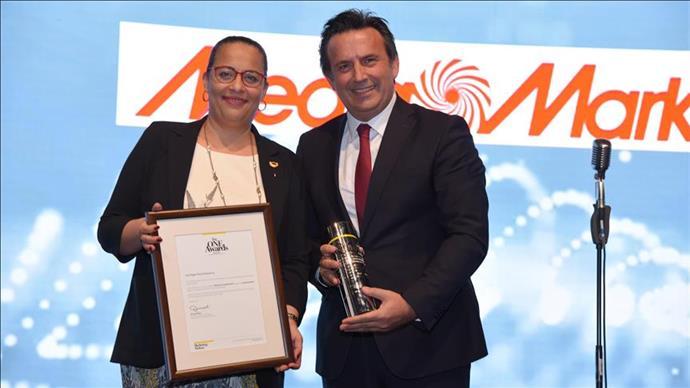 MediaMarkt, yılın en itibarlı teknoloji perakendecisi seçildi