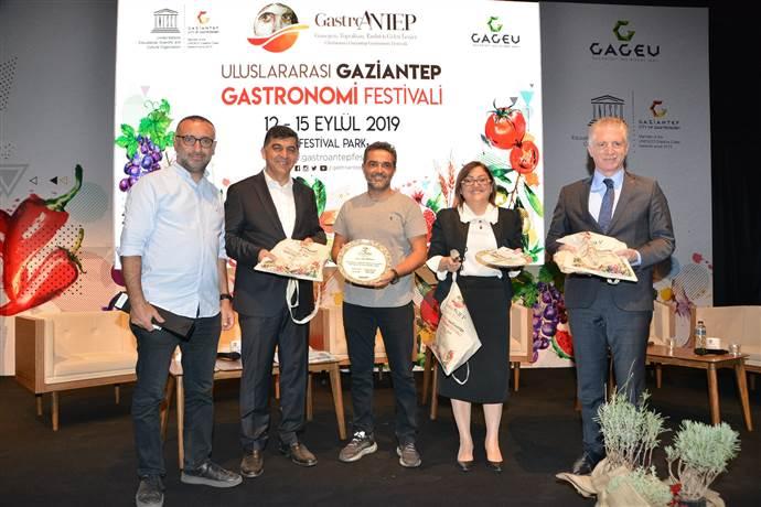 Michelin yıldızlı şefler GastroAntep festivalindeydi