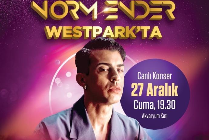 Westpark yeni yıla 'Norm Ender' Mekanın Sahibi ile giriyor
