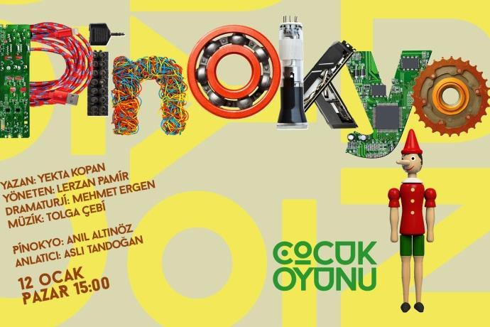 Robot Pinokyo 12 Ocak'ta İş Sanat'ta izleyicilerle buluşacak