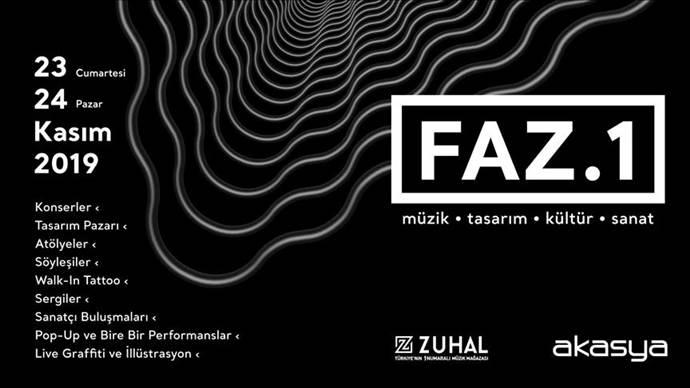 Akasya AVM'de Manga ve Zeynep Bastık'lı FAZ.1 festivali