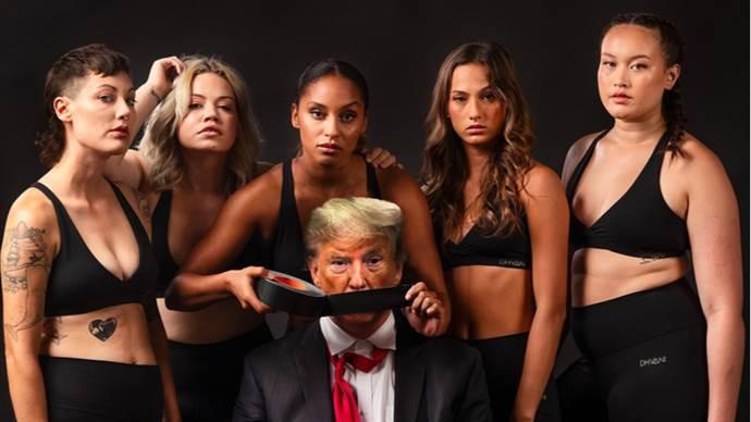 Donald Trump'ı 'susturan' reklam tartışma doğurdu