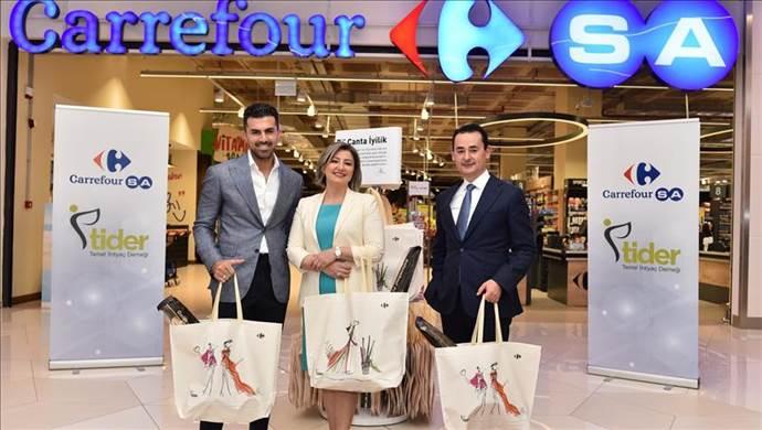 CarrefourSA'dan 'Bi' Çanta İyilik alabilirsiniz