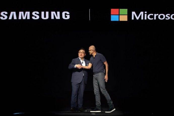 Samsung ile Microsoft işbirliği anlaşması yaptı