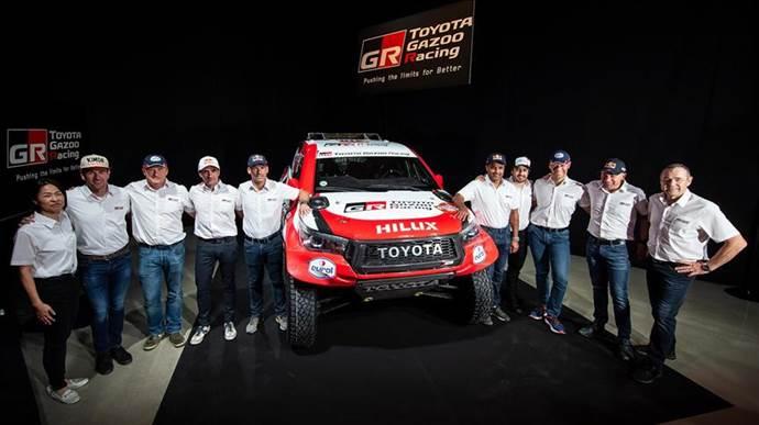 Toyota Takımı, Dakar Rallisi kadrosunu belirledi