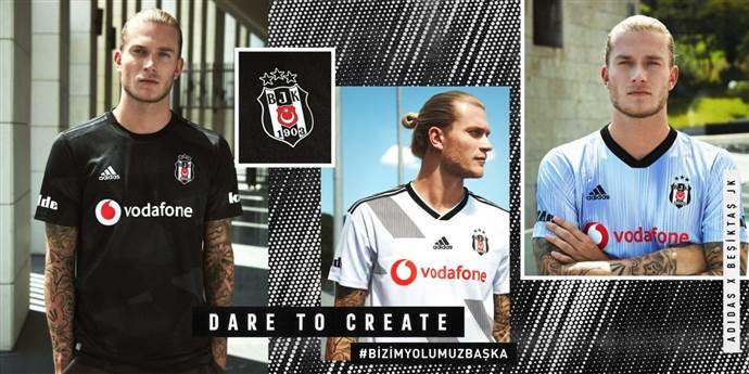 Beşiktaş'ın 2019-2020 sezonu formaları satışa çıktı