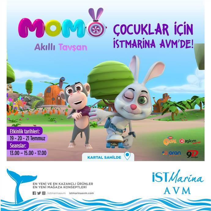 Akıllı Tavşan Momo İstMarina AVM'de
