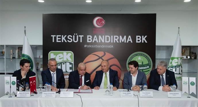 Banvit Basketbol Kulübü Teksüt Bandırma BK oldu