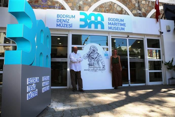 Bodrum Deniz Müzesi kurum kimliğini ve logosunu yeniledi