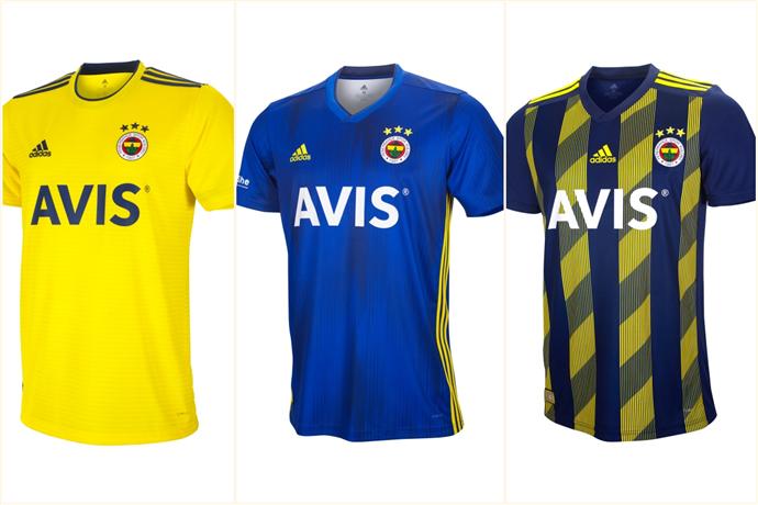 Adidas, Fenerbahçe'nin yeni formalarını satışa sundu