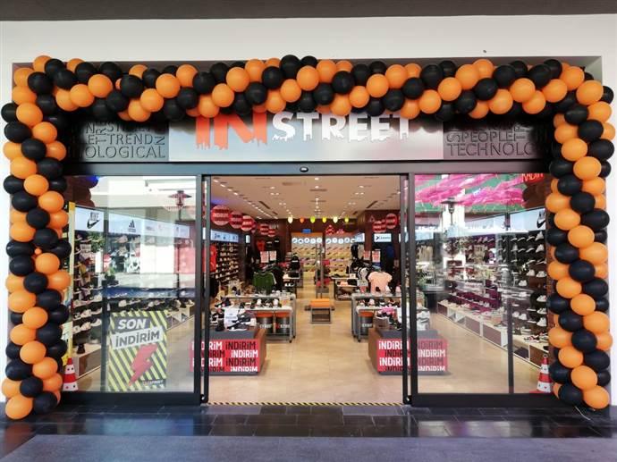 In Street yeni mağazasını İstanbul ArenaPark AVM'de açtı