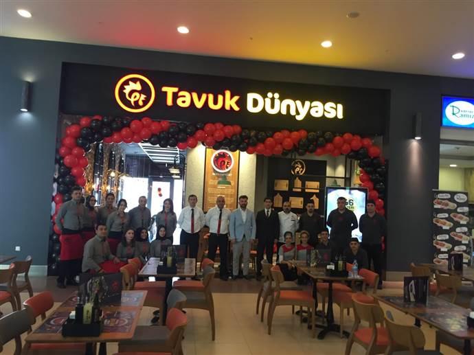 Tavuk Dünyası, yeni şubesini Tokat'taki Novada AVM'de açtı