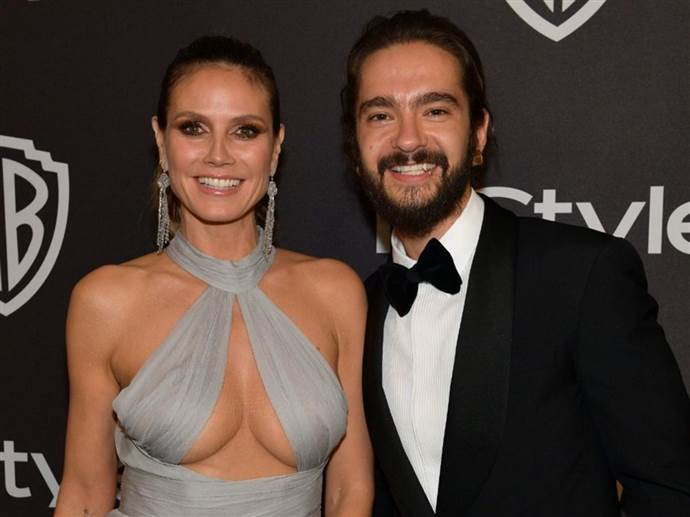 Heidi Klum ile Tom Kaulitz sessiz sedasız evlendi