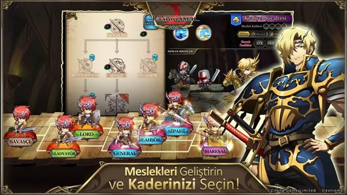 Langrisser Mobile oyunu Türkiye'de!