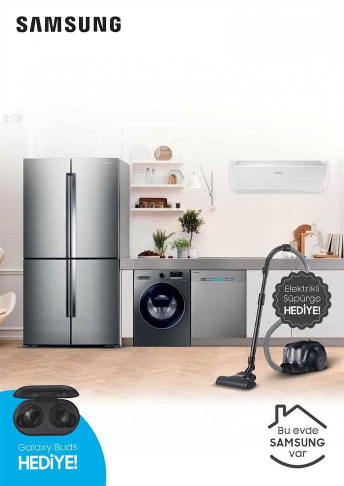 Samsung'dan Beyaz Eşya alana hediye kampanyası