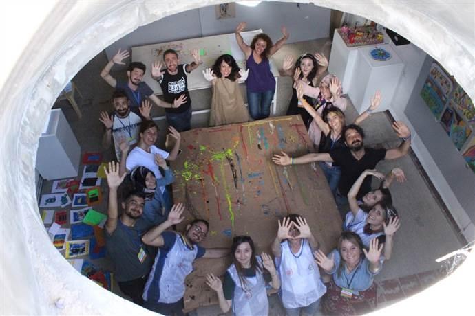 TEGV'li Çocuklar ve Gönüllüler Baksı Müzesi'ndd Sanatla Buluştu