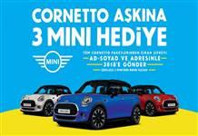 Bu yaz Cornetto'dan 3 otomobil çıkacak