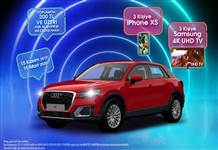 İstMarina AVM'den Audi Q2, Iphone Xs ve  Samsung 4K UHD TV kampanyası