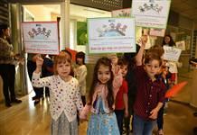 Çocuklardan 20 Kasım'da Kadıköy Belediyesi'ne anlamlı ziyaret