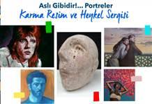 İstMarina Sanat'ta Aslı Gibidir!... Porteler sergisi