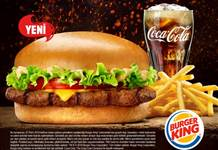 Burger King'den yeni lezzet: Kral Burger