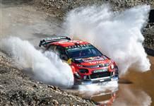 Türkiye Rallisinde ilk iki sıraya Citroën C3 WRC imza attı