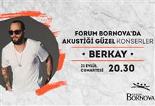 Berkay Forum Bornova AVM'de ücretsiz konser verecek