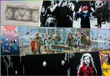 28 sanatçının göç konulu eserleri Trump AVM'de sergileniyor