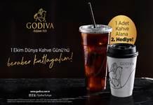 Godiva Café'lerde Dünya Kahve Günü kampanyası