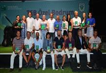 TEB Özel Bodrum Golf Turnuvasında 140 sporcu yarıştı
