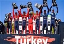 Michelin Türkiye Rallisi'ni zirvede tamamladı