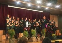 Cemil Sağyaşar Ailesi TSM Korosu'ndan unutulmaz Kış Konseri