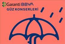 Garanti BBVA Güz Konserleri kasım ayı programı açıklandı