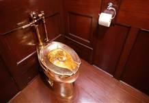 Blenheim Sarayı'ndan 6 milyon dolarlık altın klozeti çalındı