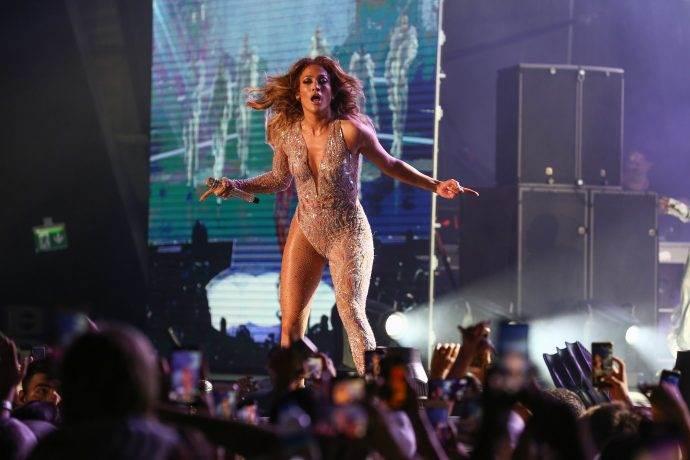 Jennifer Lopez Antalya'da nefes kesti