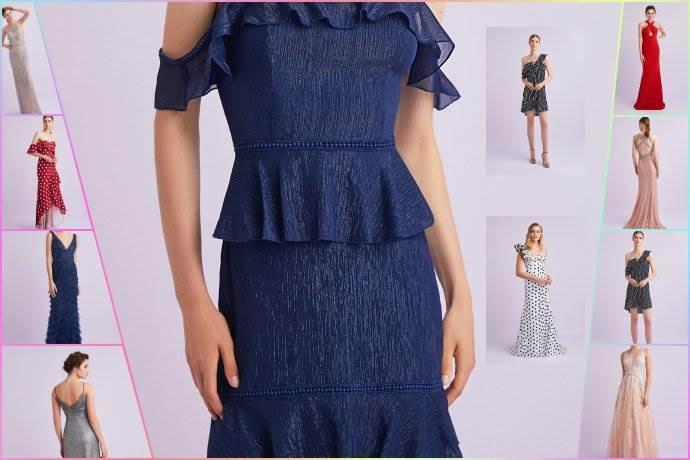 Oleg Cassini Summer Dresses koleksiyonundan yaz abiyeleri