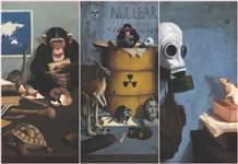 Ressam Soner Çakmak'ın Vahşi Alegori / Başlangıç sergisi