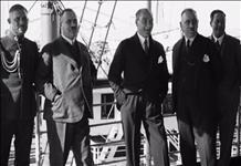 Atatürk'ün ilk kez yayınlanan Ege Vapurundaki görüntüsü